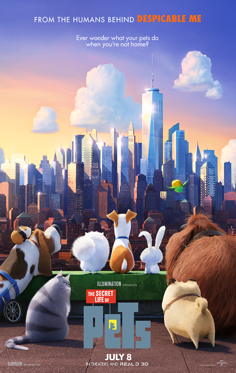 The Secret life of Pets HD 2016